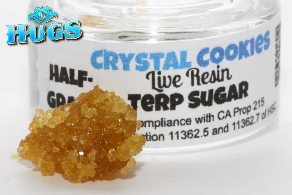 Sacramento medical marijuana Dispensary Strain BHODACIOUS CRYSTAL COOKIES LR SUGAR .5G