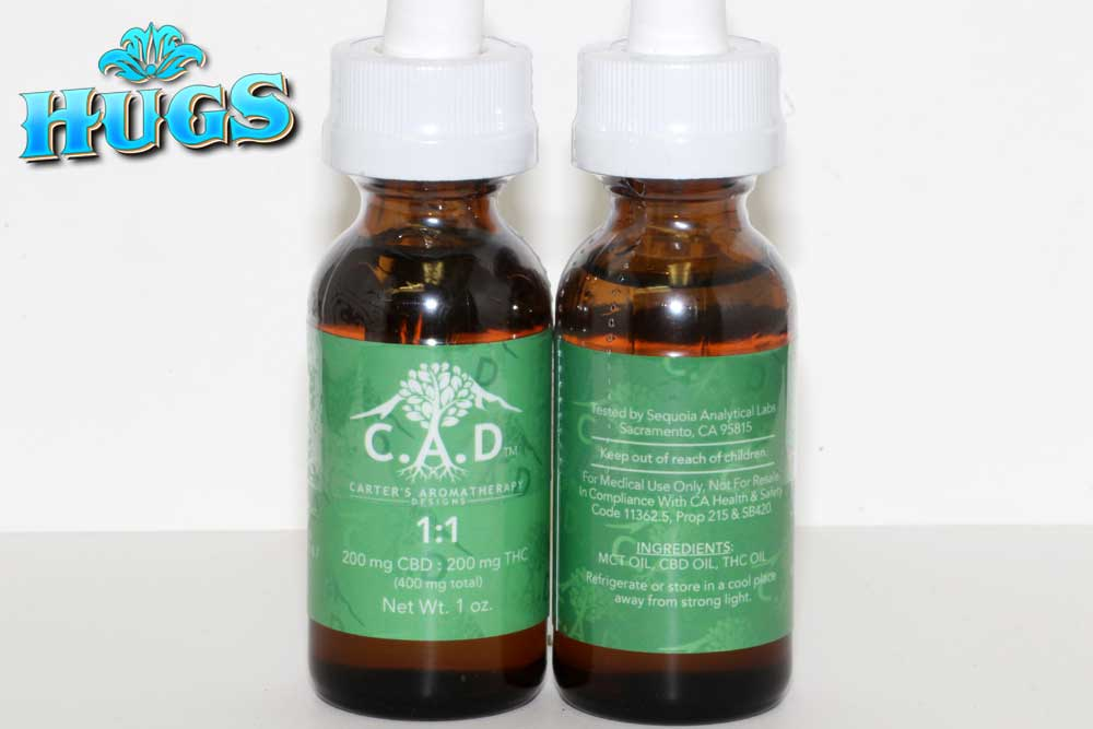 Sacramento medical marijuana Dispensary Strain CAD 1-1 TINCTURE