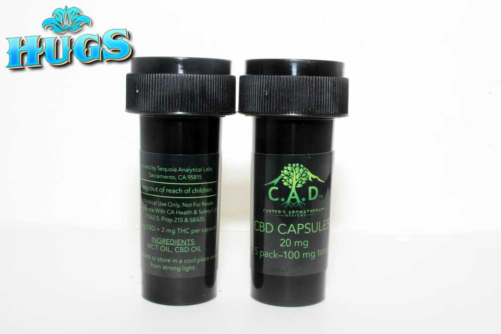 Sacramento medical marijuana Dispensary Strain CAD 20MG CAPS