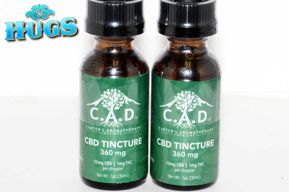 Sacramento medical marijuana Dispensary Strain CAD CBD TINCTURE 360MG