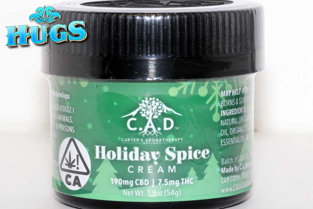 Sacramento medical marijuana Dispensary Strain CAD HOLIDAY SPICE CREAM