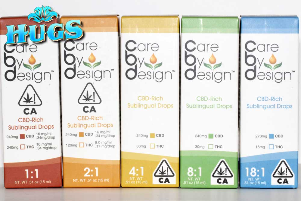 Sacramento medical marijuana Dispensary Strain CARE BY DESIGN CBD DROPS