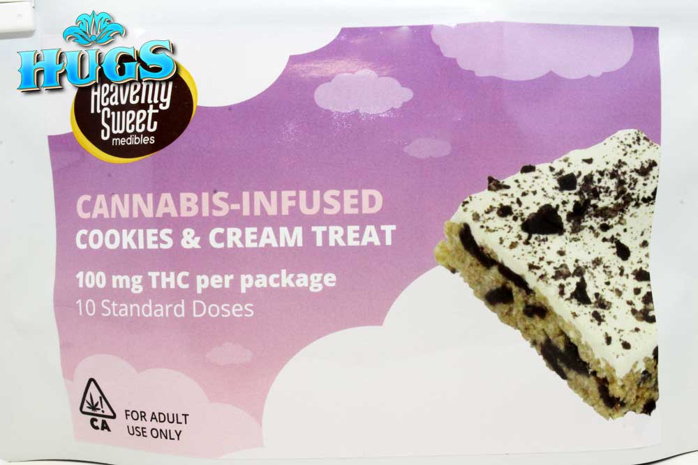 Sacramento medical marijuana Dispensary Strain HEAVENLY SWEET COOKIES & CREAM CRISPY