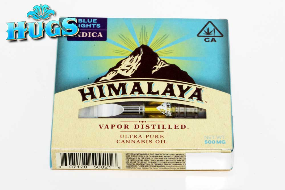 Sacramento medical marijuana Dispensary Strain HIMALAYA INDICA CART .5G