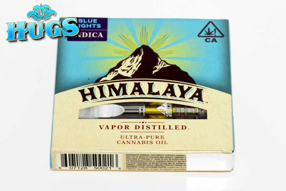 Sacramento medical marijuana Dispensary Strain HIMALAYA INDICA CART 1G