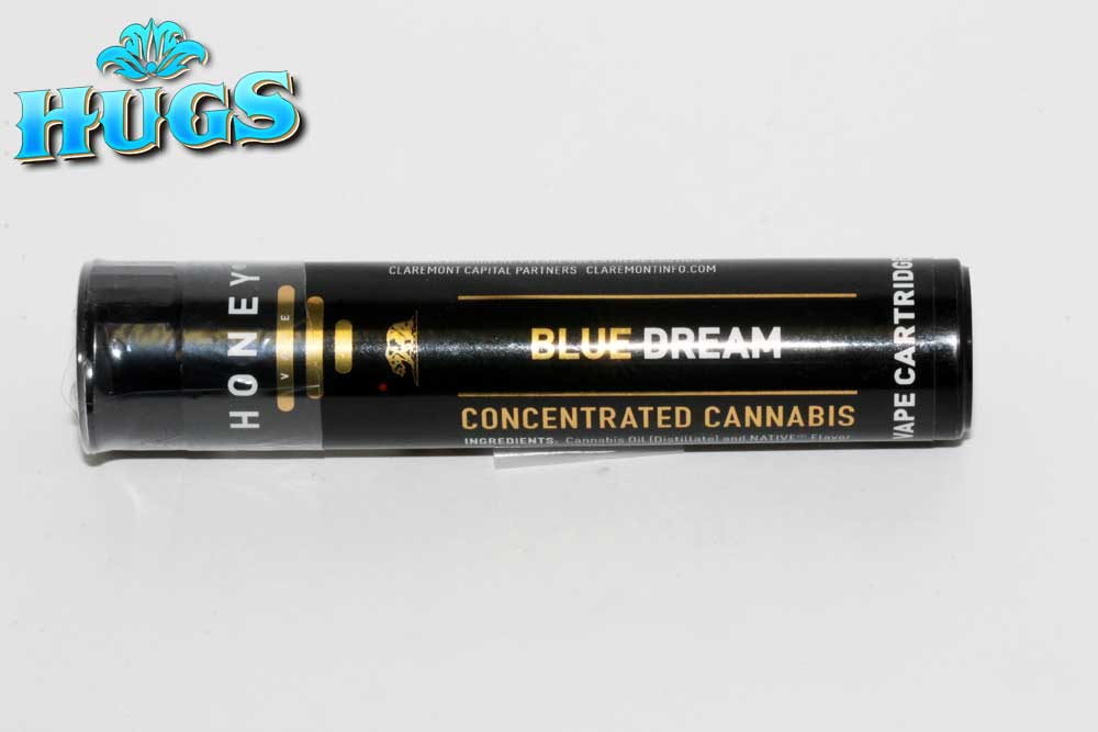 Sacramento medical marijuana Dispensary Strain HONEY VAPE BLUE DREAM CART .5G