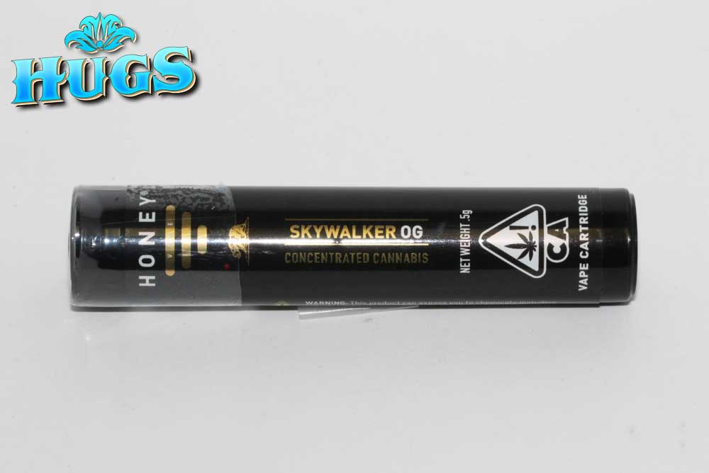 Sacramento medical marijuana Dispensary Strain HONEY VAPE SKYWALKER CART .5G