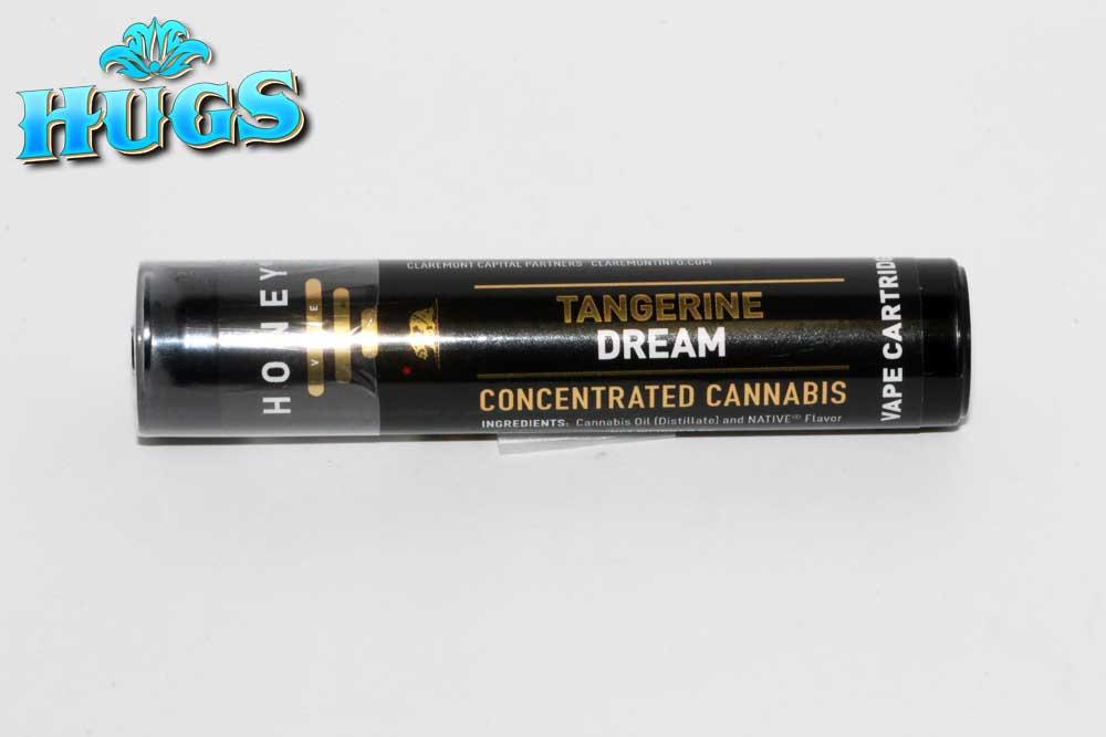 Sacramento medical marijuana Dispensary Strain HONEY VAPE TANGERINE DREAM CART .5G