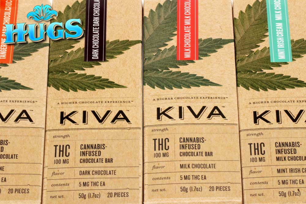 Sacramento medical marijuana Dispensary Strain KIVA 100MG BARS