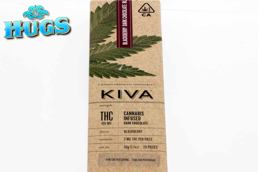 Sacramento medical marijuana Dispensary Strain KIVA BLACKBERRY BAR