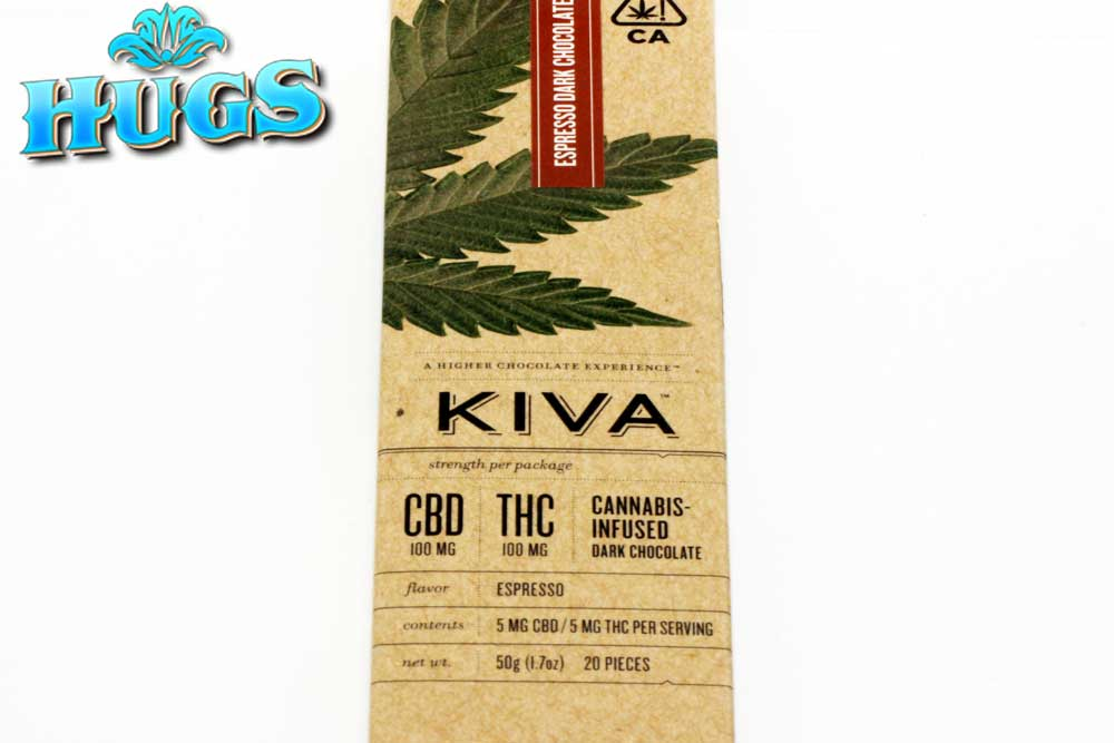 Sacramento medical marijuana Dispensary Strain KIVA CBD ESPRESSO BAR