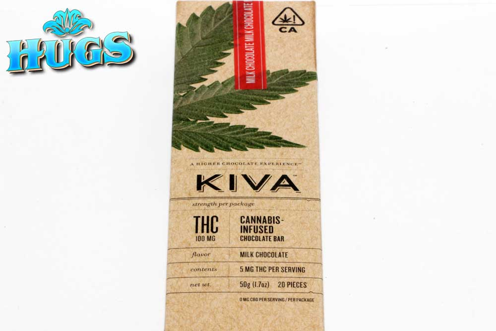 Sacramento medical marijuana Dispensary Strain KIVA MILK CHOC BAR