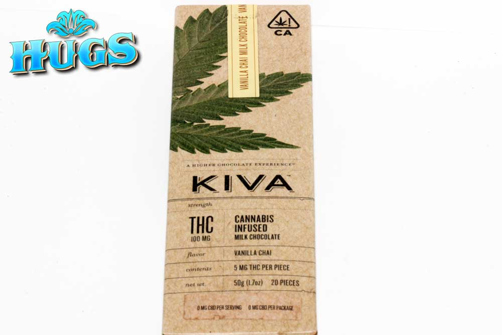 Sacramento medical marijuana Dispensary Strain KIVA VANILLA CHAI BAR