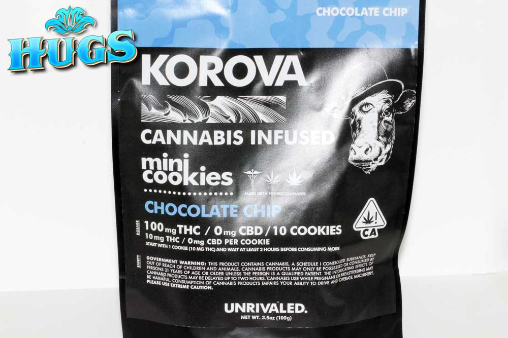 Sacramento medical marijuana Dispensary Strain KOROVA CHOC CHIP MINI COOKIES
