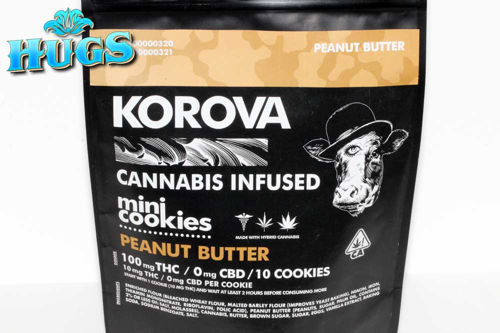 Sacramento medical marijuana Dispensary Strain KOROVA PB MINI COOKIES