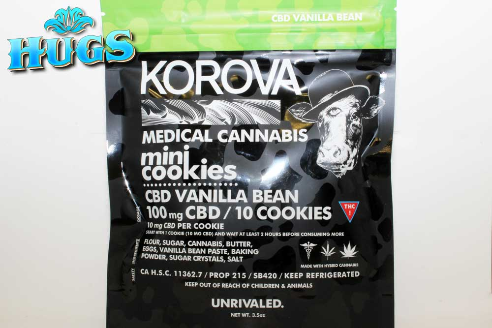 Sacramento medical marijuana Dispensary Strain KOROVA PURE CBD MINI COOKIES