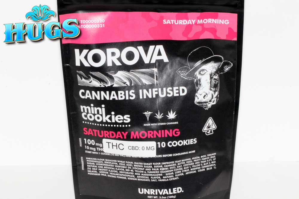 Sacramento medical marijuana Dispensary Strain KOROVA SATURDAY MINI COOKIES